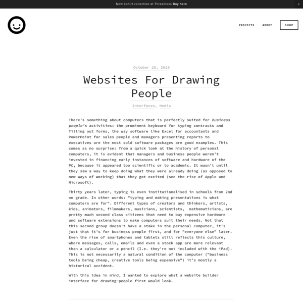 Websites For Drawing People
