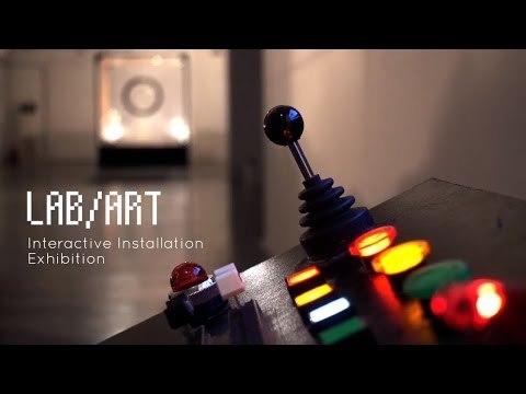LAB/ART Interactive Installation Exhibition