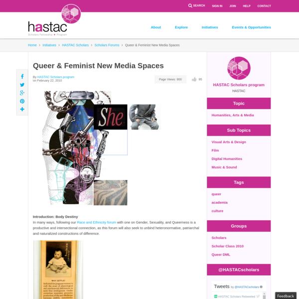 Queer & Feminist New Media Spaces