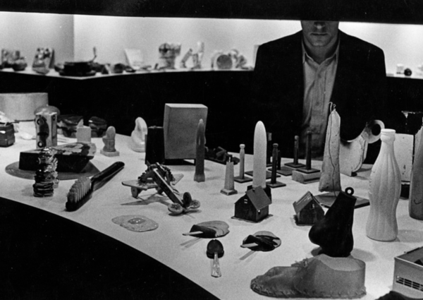 "Claes Oldenberg, ""Mouse Museum"" 1972"