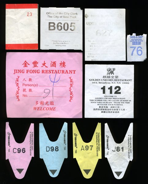 Number Tickets