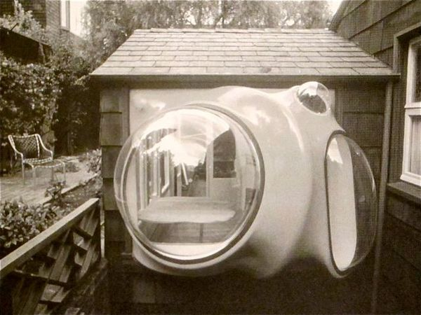 Ant Farm, Poole House Remodel. San Francisco. California, 1974