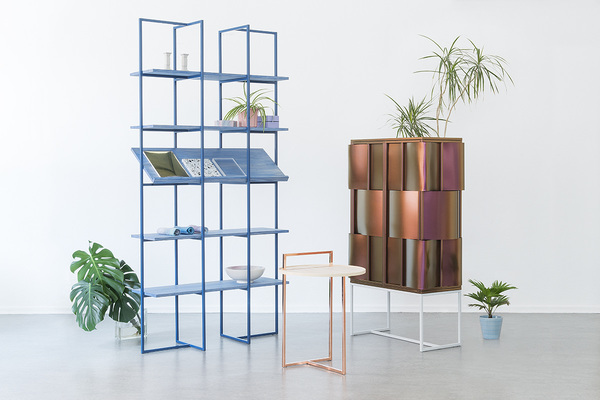 Anny Wang, Akin Collection shelving unit
