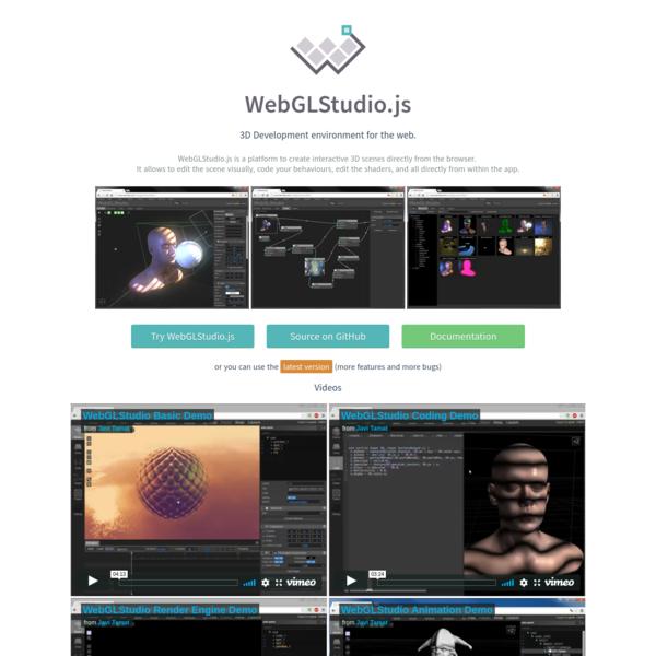 WebGLStudio.js