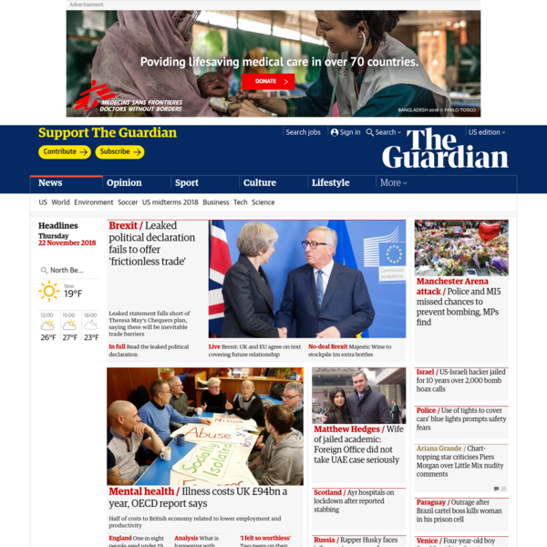 News, sport and opinion from the Guardian's UK edition | The Guardian