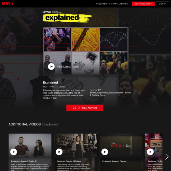 Explained | Netflix Official Site