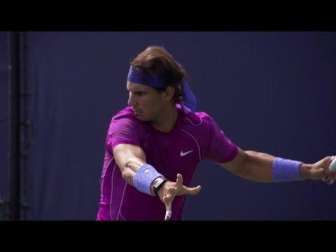 Rafael Nadal Ultimate Slow Motion Compilation - Forehand - Backhand - Serve - 2013 Cincinnati Open