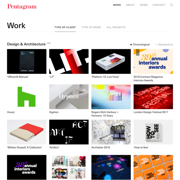 Design & Architecture - Pentagram