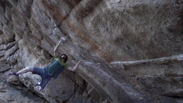 On Thursday November 20th, Jimmy Webb and friends (Nalle, Dave, Beau) headed to Thunder Ridge in the South Platte to try Daniel Woods' Defying Gravity V15. I was happy to get the send on film on my first day out shooting with my new FS700!