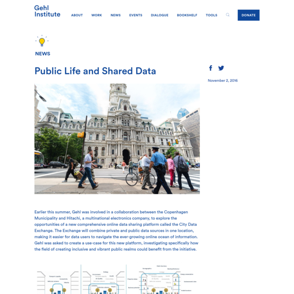 Public Life and Shared Data - Gehl Institute