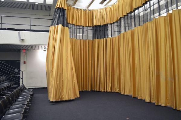 Piper Auditorium Curtain // Petra Blaise