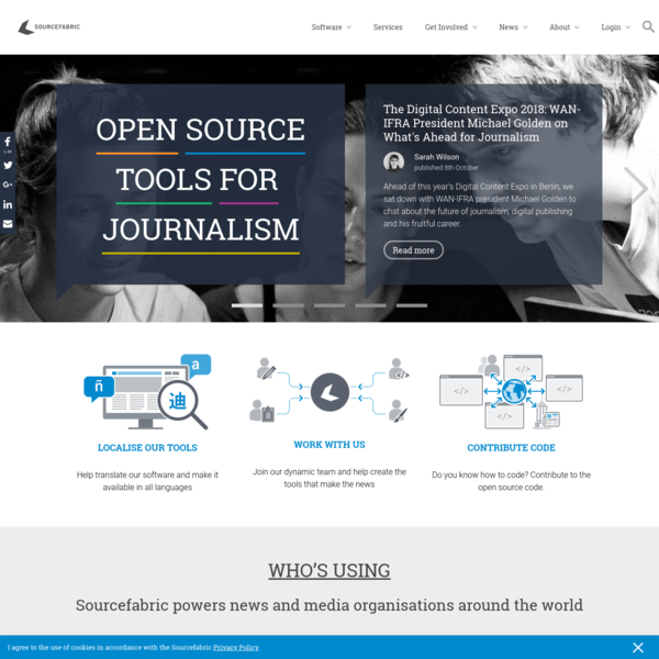 Sourcefabric | Open Source Software for Journalism