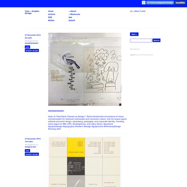 Yale- Graphic Design