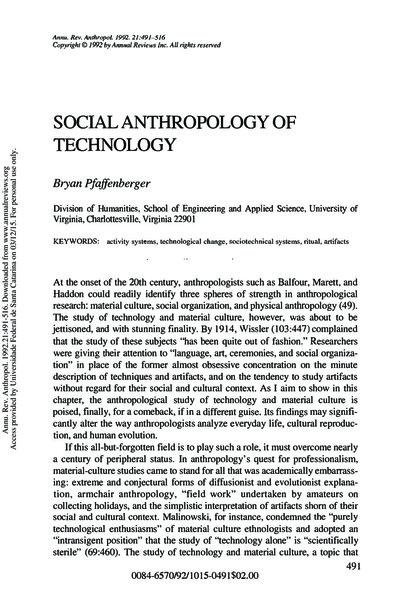 pfaffenberger-1992.pdf