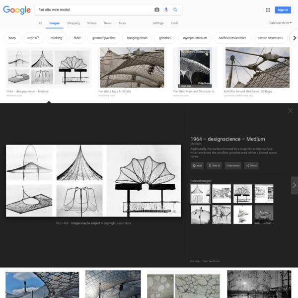 frei otto wire model - Google Search