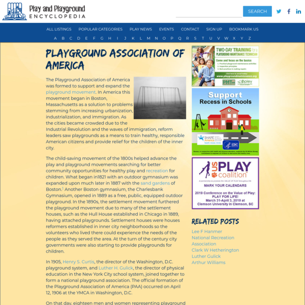 Playground Association of America