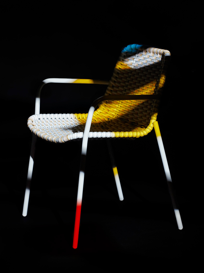 Strap Chair by Scholten and Baijings for Moustache Fr
