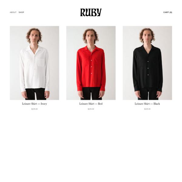 Shop - Ruby