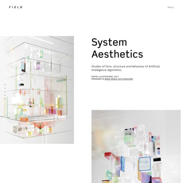 FIELD x Digital Illustrations, 2018 - System Aesthetics