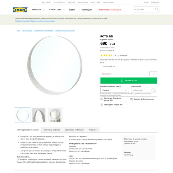 ROTSUND Espelho - IKEA