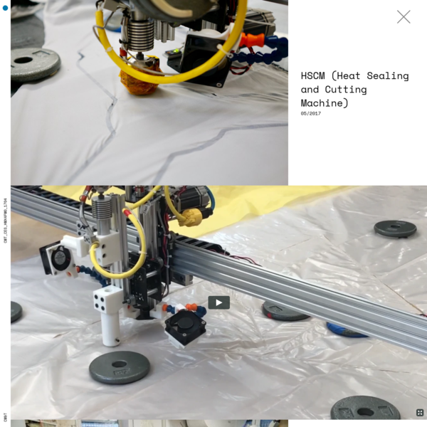 HSCM (Heat Sealing and Cutting Machine)