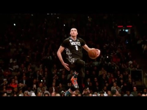 Check out these 400 fps images from Zach LaVine's All Star Slam Dunk Contest. About the NBA: The NBA is the premier professional basketball league in the United States and Canada. The league is truly global, with games and programming in 215 countries and territories in 47 languages, as well as NBA rosters at the start of the 2015-16 season featuring 100 international players from 37 countries and territories.