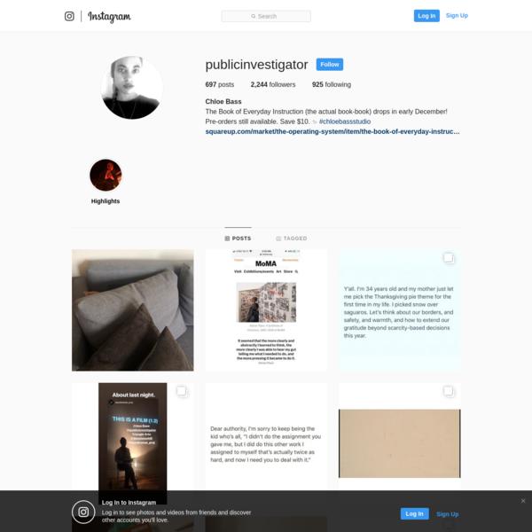Chloe Bass (@publicinvestigator) * Instagram photos and videos