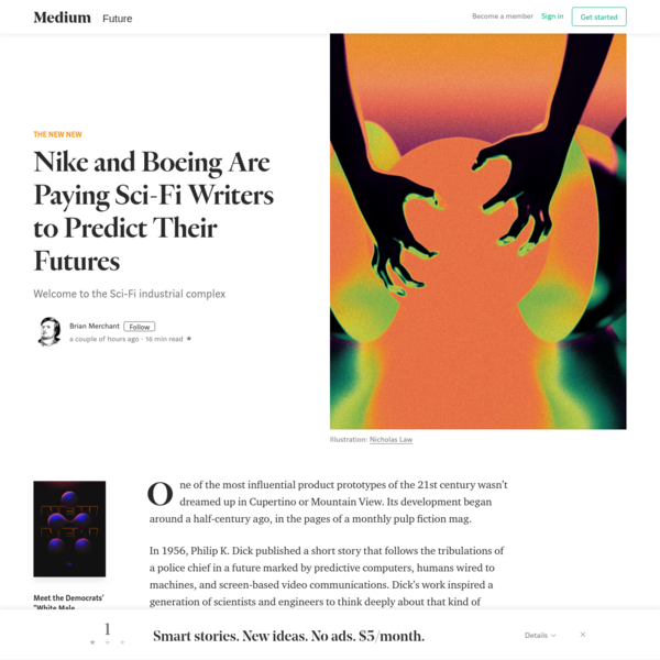 Nike and Boeing Are Paying Sci-Fi Writers to Predict Their Futures