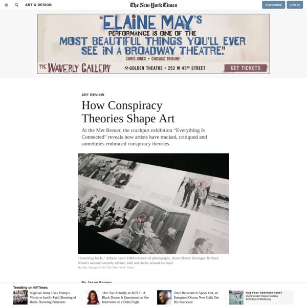 How Conspiracy Theories Shape Art