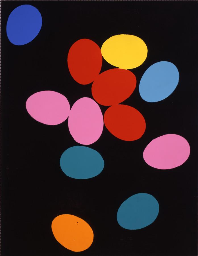 Andy Warhol, Eggs, 1982