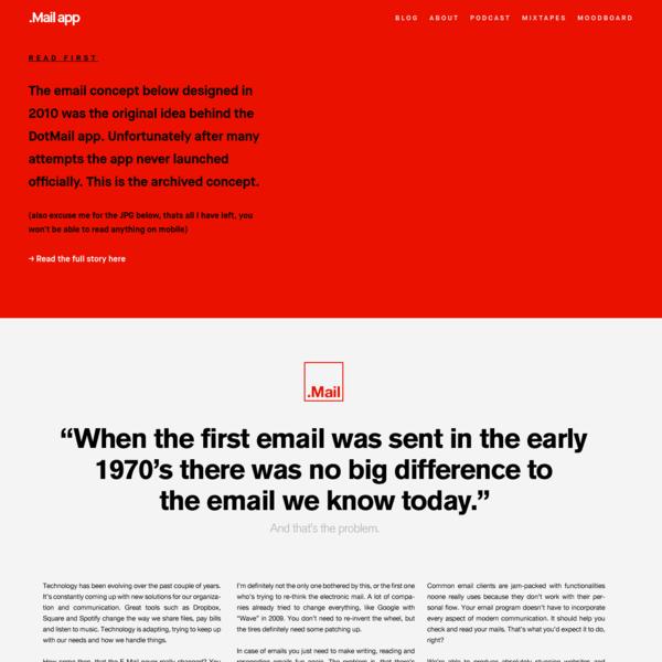 .Mail App 2011 - House of van Schneider