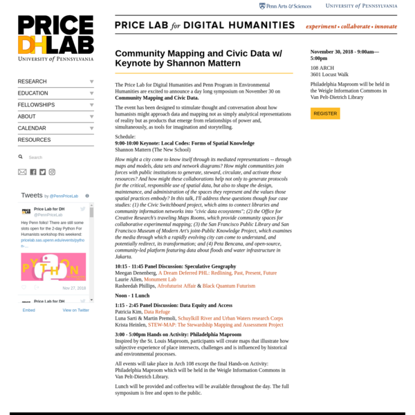 Home | Price Lab for Digital Humanities