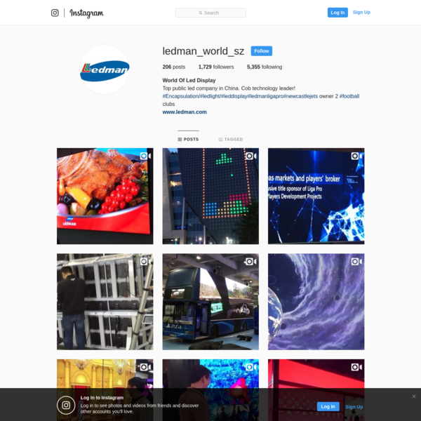 1,729 Followers, 5,355 Following, 206 Posts - See Instagram photos and videos from World Of Led Display (@ledman_world_sz)
