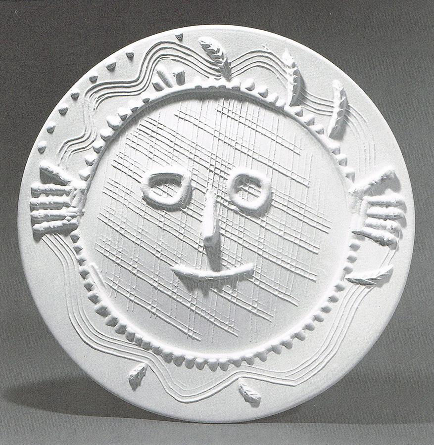 Pablo Picasso –Visage aux Mains (1956)