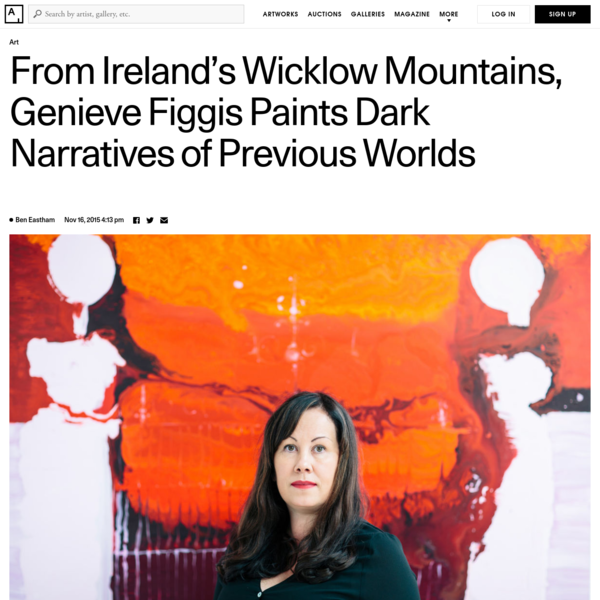 Up and Coming: Genieve Figgis Weaves Dark Narratives into Art-Historical Paintings