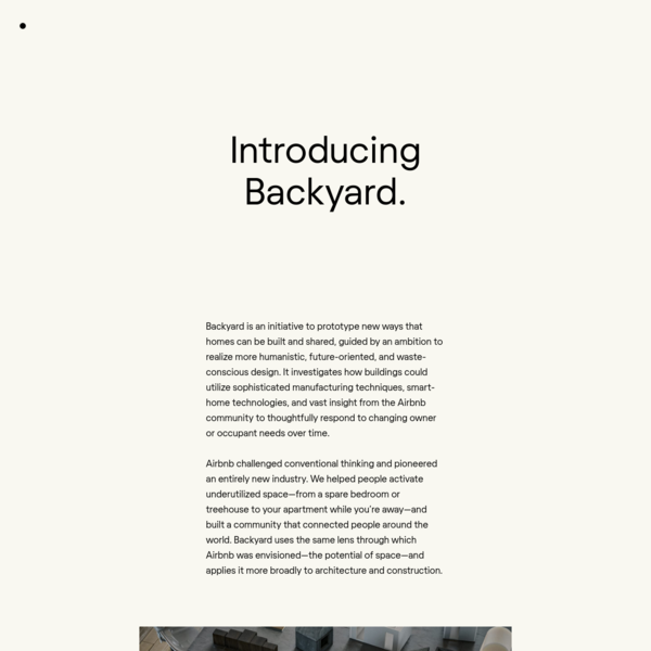 Introducing Backyard - Samara