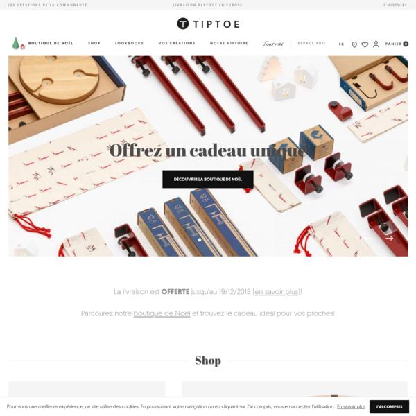 TIPTOE - Créez un meuble unique avec nos pieds de table design