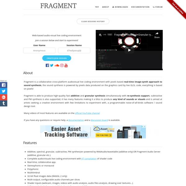 Fragment Synthesizer