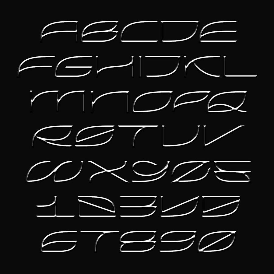 Ultra Typeface