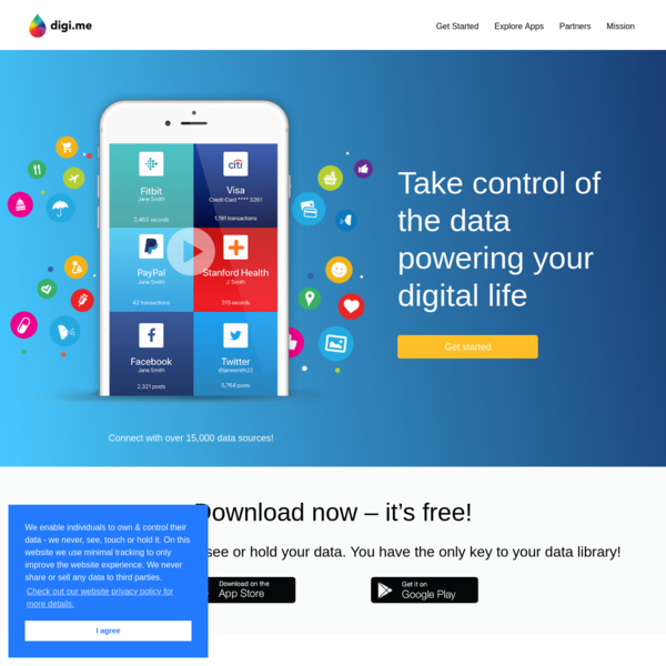 Digi.me - Your life, Your terms