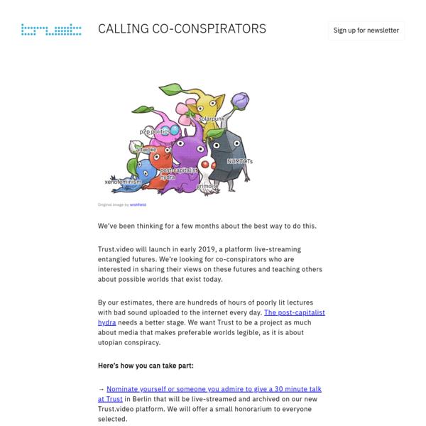 CALLING CO-CONSPIRATORS