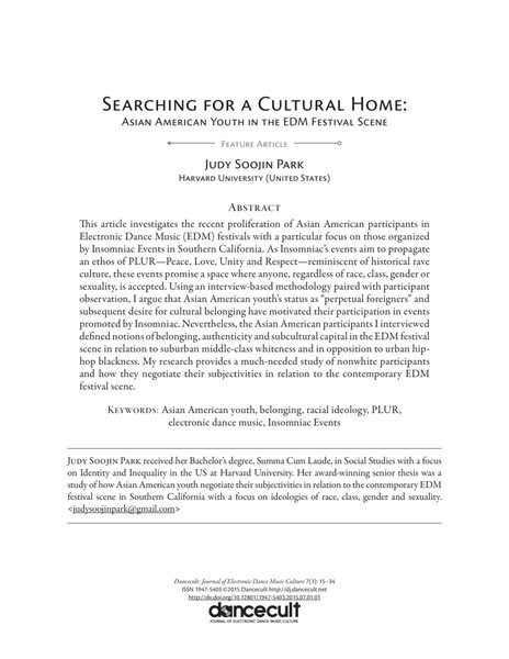 Searching for a Cultural Home – Judy Soojin Park