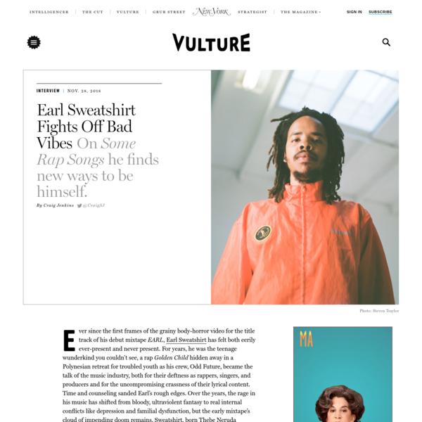 Earl Sweatshirt Fights Off Bad Vibes