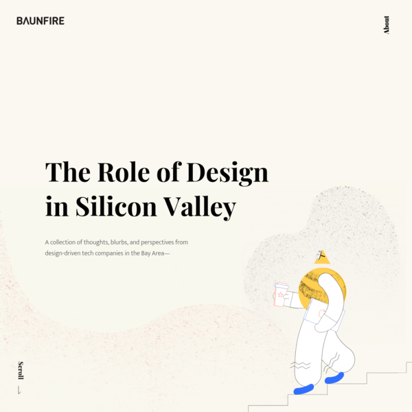 The Role of Design in Silicon Valley | BAUNFIRE | Design, Technology, Design Thinking, Thought Leadership