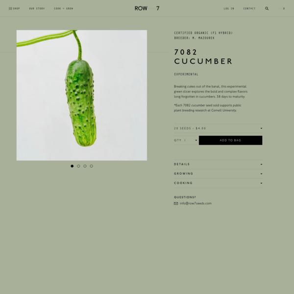 7082 Cucumber