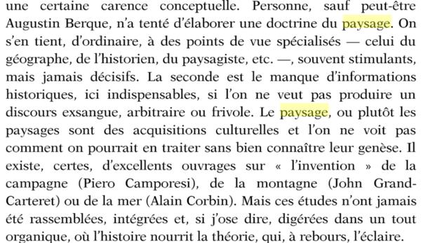 Court traité du paysage-Alain Roger