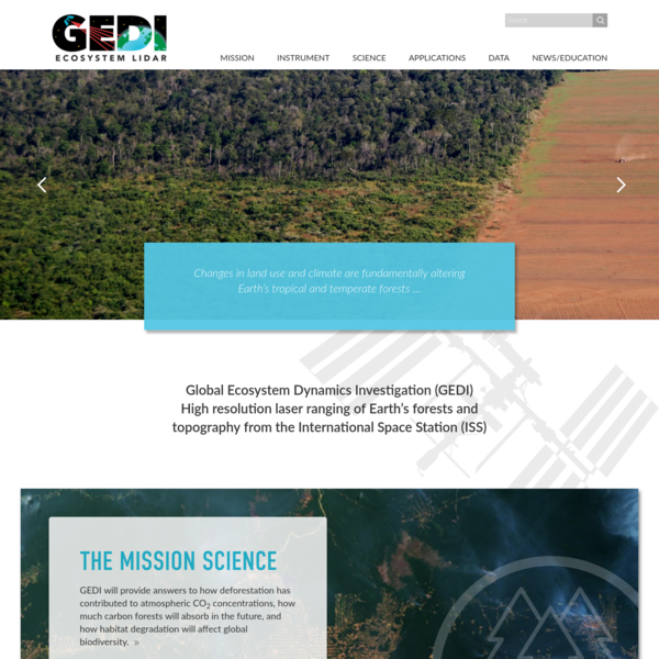 Home Page - GEDI