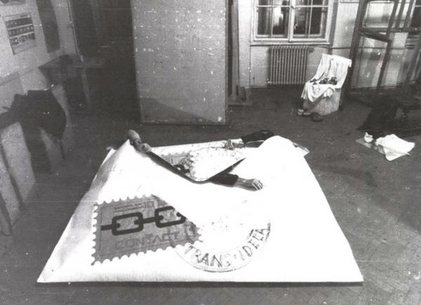Constantin Flondor, Iosif Kiraly, Doru Tulcan, Mail Art Performance, 1982