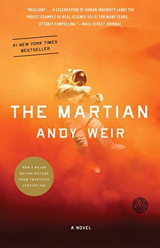 Book Cover of The Martian by Andy Weir