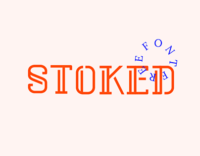 STOKED (free font)